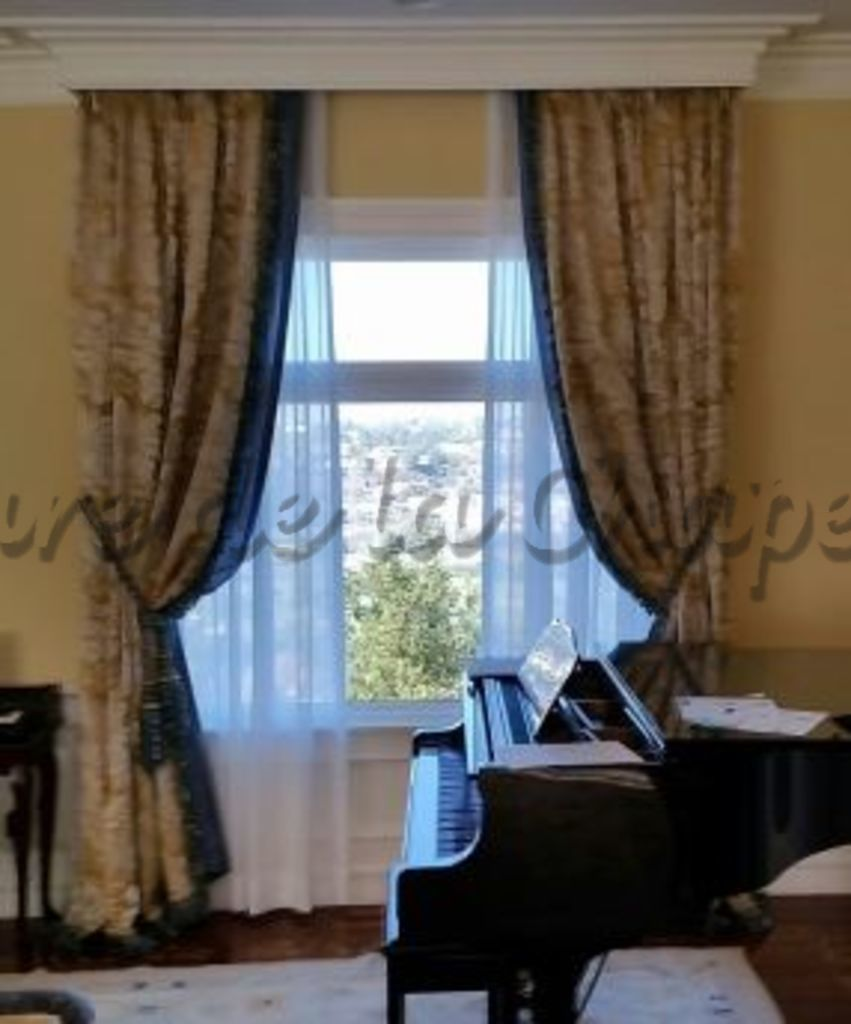Custom window treatments for Custom window treatments