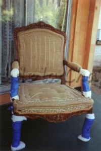 Reupholster chair