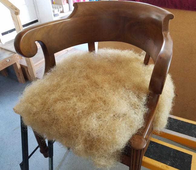 horse hair upholstery